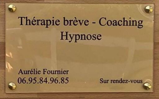 Plaque Aurélie Fournier Hypnose Caen Mondeville Herouville